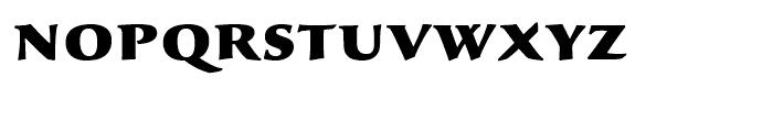 Sava Black Font LOWERCASE
