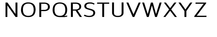 Savile Medium Font UPPERCASE