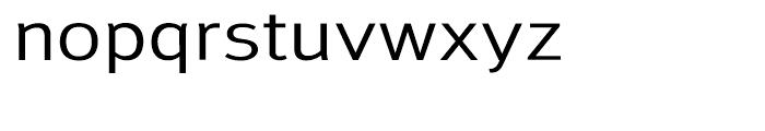 Savile Medium Font LOWERCASE