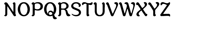 Savor Regular Font UPPERCASE