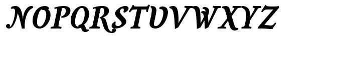 Savour Pro Bold Italic Font UPPERCASE
