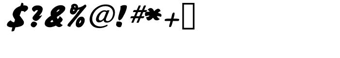 Sayer Script Black Font OTHER CHARS
