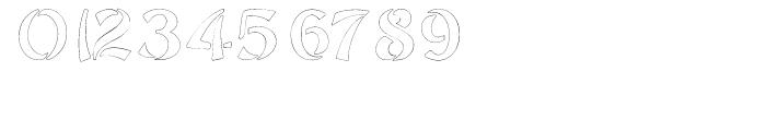 Sayonara Outline Font OTHER CHARS