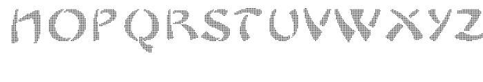 Sayonax Font UPPERCASE