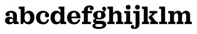 Sagona Bold Font LOWERCASE
