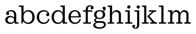 Sagona Book DEMO Font LOWERCASE