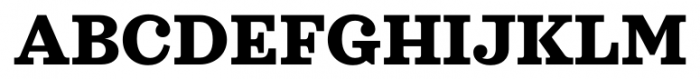 Sagona Extra Bold Font UPPERCASE