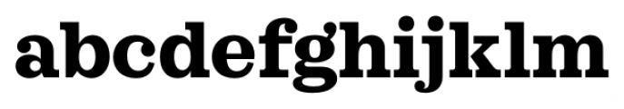 Sagona Extra Bold Font LOWERCASE