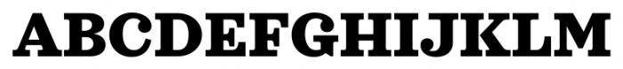 Sagona Heavy Font UPPERCASE