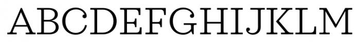 Sagona Light Font UPPERCASE