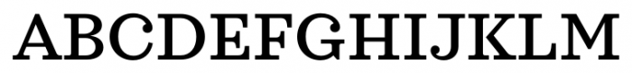 Sagona Medium Font UPPERCASE