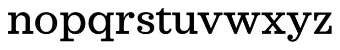 Sagona Medium Font LOWERCASE