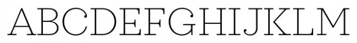 Sagona Thin Font UPPERCASE
