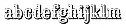 Saloon Girl Open Font LOWERCASE