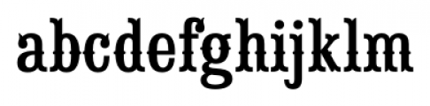 Saloon Girl Regular Font LOWERCASE