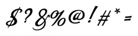 Saloonkeeper Regular Font OTHER CHARS