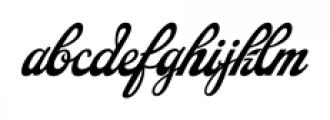 Saloonkeeper Regular Font LOWERCASE