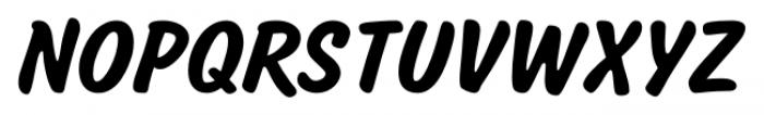 Salsbury Regular Font UPPERCASE