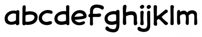 Samaritan Lower Regular Font LOWERCASE