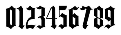 Same Old English JNL Regular Font OTHER CHARS