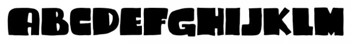 Sammy Boy Regular Font UPPERCASE