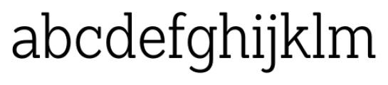 Sanchez Condensed Light Font LOWERCASE
