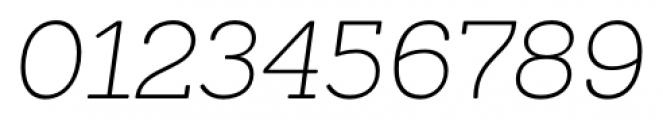 Sanchez ExtraLight Italic Font OTHER CHARS