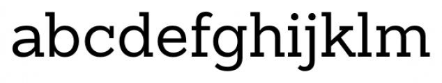 Sanchez Slab Regular Font LOWERCASE
