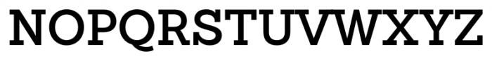 Sanchez Slab SemiBold Font UPPERCASE