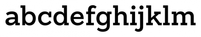 Sanchez Slab SemiBold Font LOWERCASE
