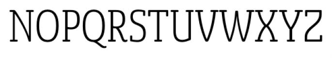 Sancoale Slab Soft Cond Light Font UPPERCASE
