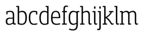 Sancoale Slab Soft Cond Light Font LOWERCASE