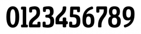 Sancoale Slab Soft Cond Medium Font OTHER CHARS
