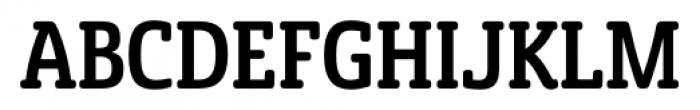 Sancoale Slab Soft Cond Medium Font UPPERCASE