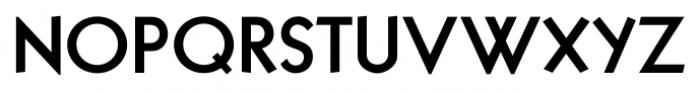 Sans Serif Bold Regular Font UPPERCASE