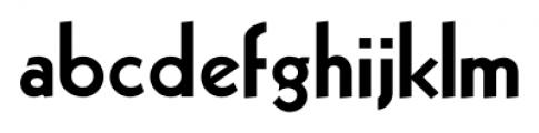 Sans Serif Bold Regular Font LOWERCASE