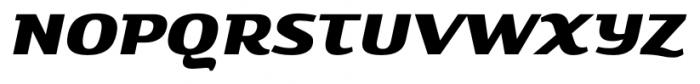Savant Italic Font UPPERCASE