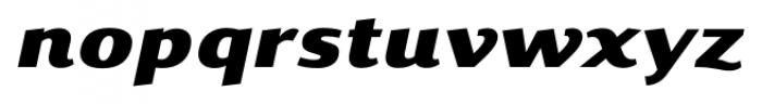Savant Italic Font LOWERCASE