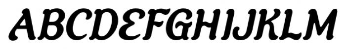 Savor Bold Italic Font UPPERCASE