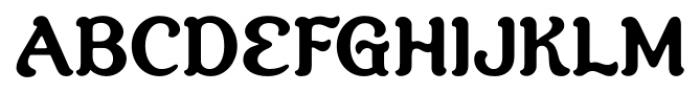 Savor Bold Font UPPERCASE