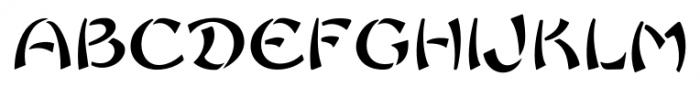 Sayonara Regular Font UPPERCASE