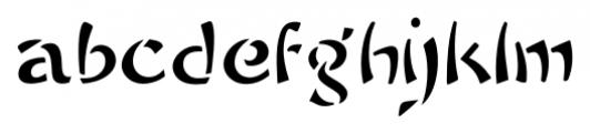 Sayonara Regular Font LOWERCASE