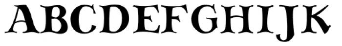 SAV PT Display Font UPPERCASE