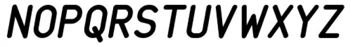 Saarikari Bold Oblique Font UPPERCASE