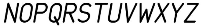 Saarikari Oblique Font UPPERCASE