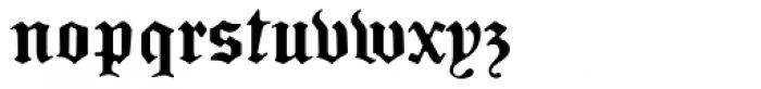 Sabbath Black Heavy Font LOWERCASE