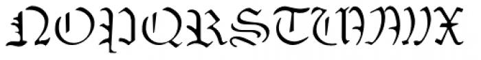 Sabbath Black Regular Font UPPERCASE