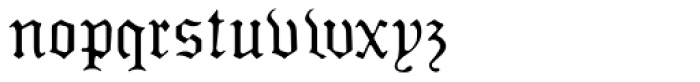 Sabbath Black Regular Font LOWERCASE