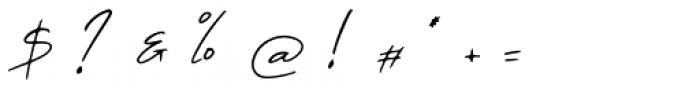 Sabella Regular Font OTHER CHARS
