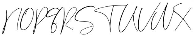 Sabella Regular Font UPPERCASE